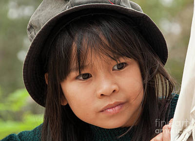 Photograph - Vietnamese Girl 01 by Rick Piper Photography