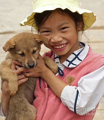 Photograph - Vietnamese Girl 02 by Rick Piper Photography