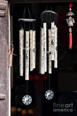 Wind Chimes Photograph - Vietnamese Wind Chimes by Rick Piper Photography