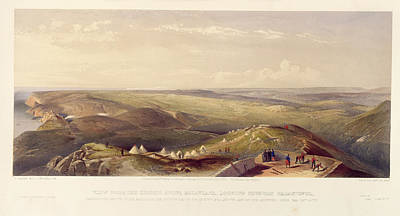 View Above Balaklava Art Print by British Library