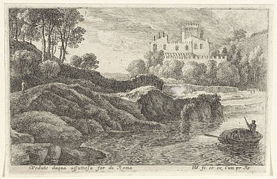 View Acqua Acetosa, Herman Van Swanevelt Print by Quint Lox