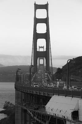 Photograph - View Across The Golden Gate by Mike Lee