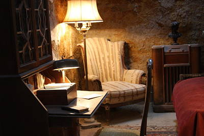 Photograph - View At Al Capone's Cell At The Eastern State Penitentiary by Vadim Levin
