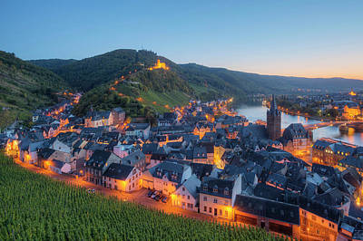 House Photograph - View At Bernkastel-kues With Landshut by Hans Georg Eiben / Look-foto