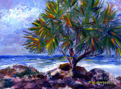 Painting - View At Maku'u by Diane Thornton
