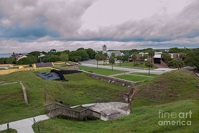 Photograph - View Atop Fort Moultrie by Dale Powell