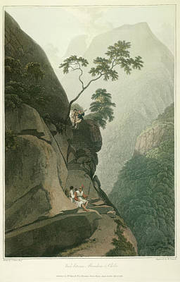 Illustration Technique Photograph - View Between Murichom And Choka by British Library