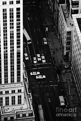 View Down Towards Fifth 5th Avenue Ave New York City Art Print by Joe Fox