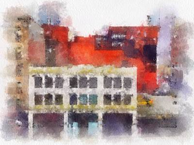 View From A New York Window Art Print