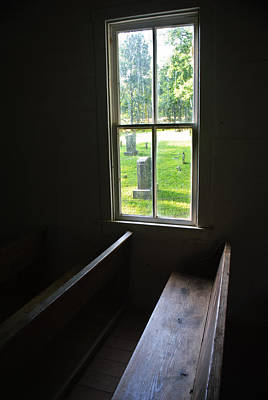 Photograph - View From A Pew by George Taylor