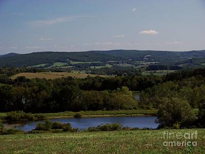 Photograph - View From Amenia by Donna Cavanaugh