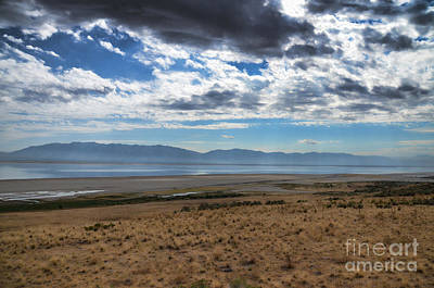 Photograph - View From Antelope Island by Donna Greene