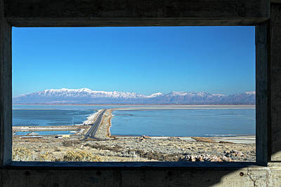 View From Antelope Island Art Print by Jim West