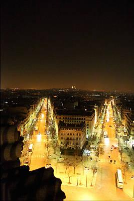 View From Arc De Triomphe - Paris France - 01131 Art Print by DC Photographer