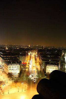 De Photograph - View From Arc De Triomphe - Paris France - 011310 by DC Photographer