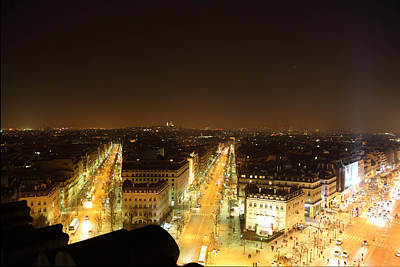 Gateway Photograph - View From Arc De Triomphe - Paris France - 011315 by DC Photographer