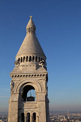 View From Basilica Of The Sacred Heart Of Paris - Sacre Coeur - Paris France - 011324 Art Print by DC Photographer
