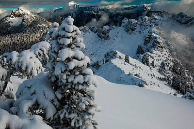 Mountain Royalty-Free and Rights-Managed Images - View from below by Ryan McGinnis