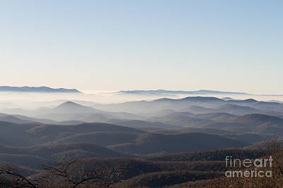 View From Blood Mountain Art Print