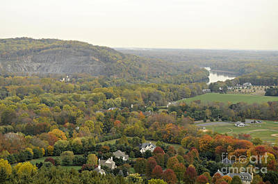 View From Bowman's Tower South Art Print by Addie Hocynec