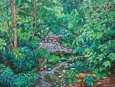 Painting - View From Bridge At Wildwood Park by Kendall Kessler