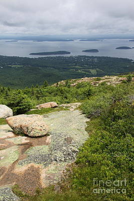 Cadilac Photograph - View From Cadillac Mountain - Acadia Park by Christiane Schulze Art And Photography