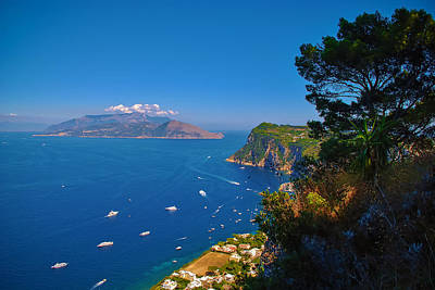 View From Capri Art Print