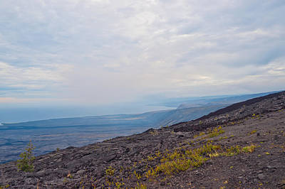 Thomas Kinkade Rights Managed Images - View from Chain of craters road in Big Island Hawaii Royalty-Free Image by Marek Poplawski