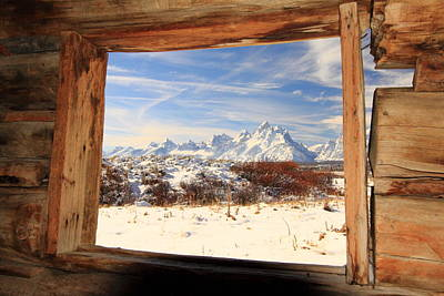 View From Cunningham Cabin Art Print