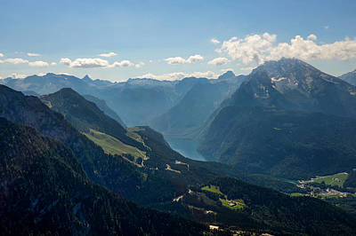 Photograph - View From Eagle's Nest In Germany by Marilyn Burton