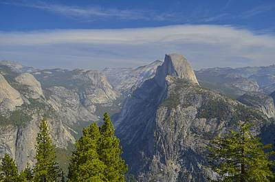 View From Glacier Point Yosemite Art Print
