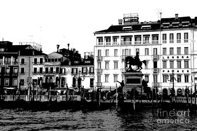 Photograph - View From Grand Canal by Jacqueline M Lewis