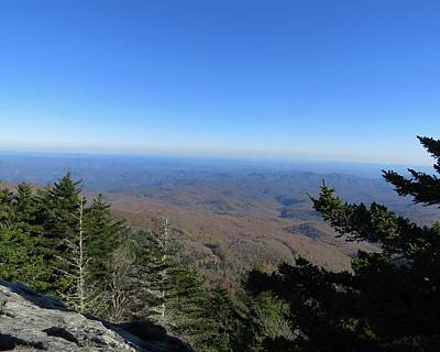 Photograph - View From Grandfather Mountain 1 by Kathy Long
