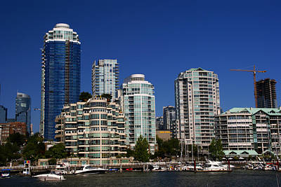 Photograph - View From Granville Island North by Robert Lozen