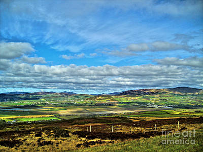 Photograph - View From Grianan Of Aileach Fort by Nina Ficur Feenan