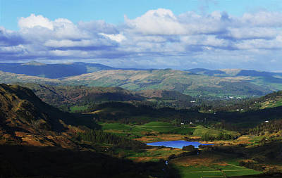 Ambleside Wall Art - Photograph - View From Hardknott Pass by Ae Pictures Inc.