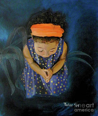 View From Heaven Art Print by Susan  Toler