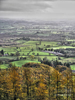 Photograph - view from Hill of Knockmany by Nina Ficur Feenan