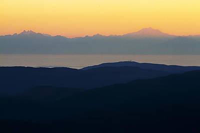 Photograph - View From Hurricane Ridge by Robert Woodward