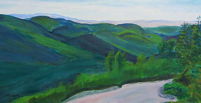 Painting - View From Jennings Peak by Linda Feinberg