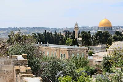 View From Jerusalem Wall Original