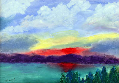 View From Kirkland Art Print by Wade Binford
