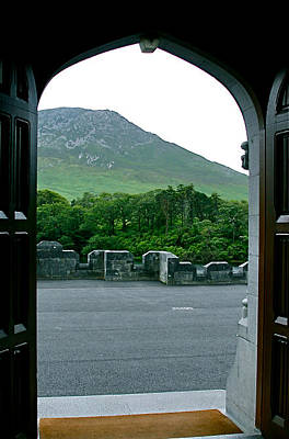 Photograph - View From Kylemore Abbey by Denise Mazzocco