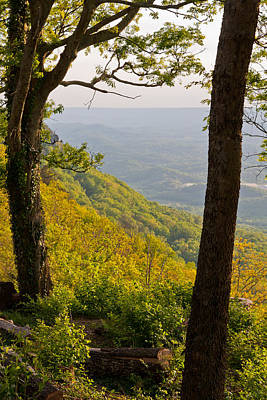 Photograph - View From Lookout Mountain by Melinda Fawver