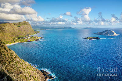 Art Print featuring the photograph View From Makapuu Point by Aloha Art