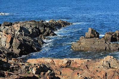Photograph - View From Marginal Way Ogunquit Maine 1 by Michael Saunders