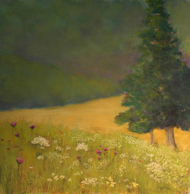 Pastel - View From Marsh's Gate by Lorraine McFarland