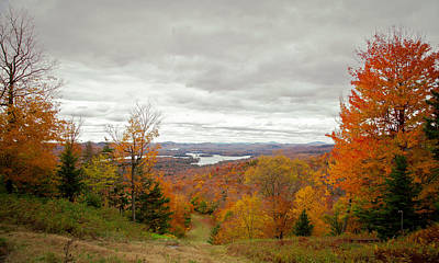 Photograph - View From Mccauley Mountain IIi by David Patterson