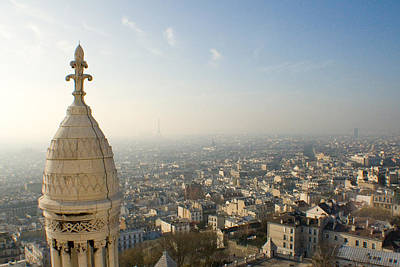Photograph - View From Montmartre by Jon Emery