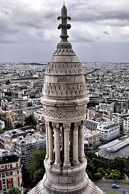 Sacre Coeur Photograph - View From Montmartre by Nikolyn McDonald